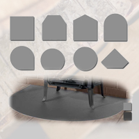 Bodenplatten und Vorlegeplatten für Kaminöfen und Kamine