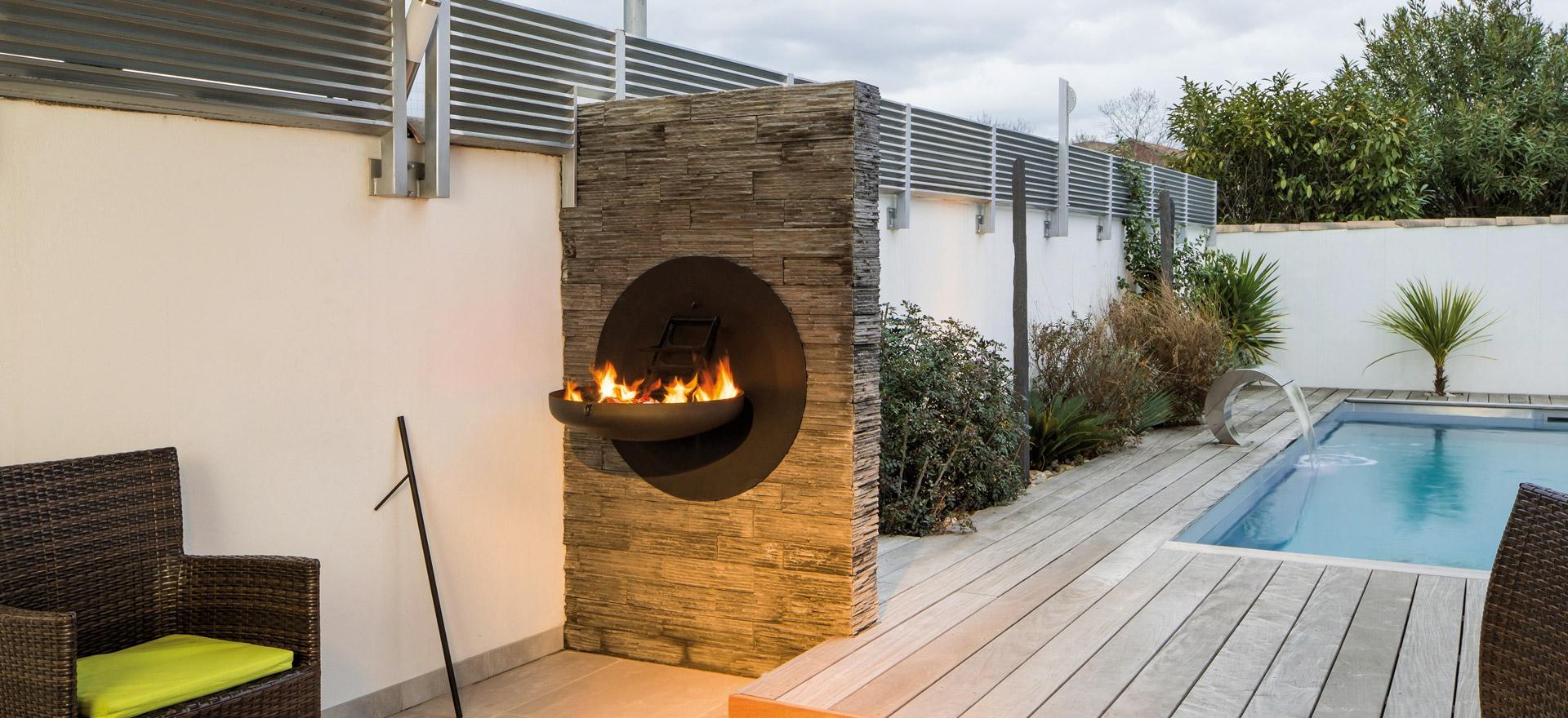 Kamin Outdoor - Focus Kamine für den Aussenbereich
